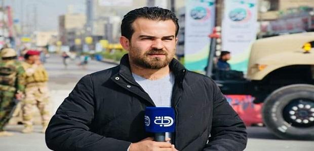 مراسل قناة دجلة انس يوسف